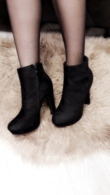 Basic Heeled Ankle Boots