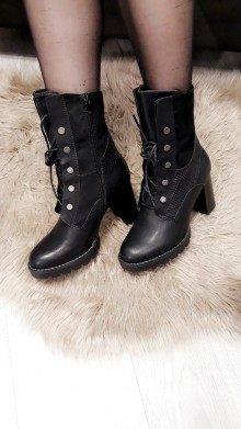 High Buttoned Boots