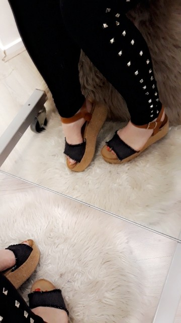 Demin Platfrom Wedges
