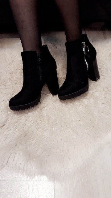Ring Ankle Boots