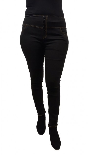 Zwarte Stretch Jeans