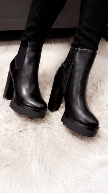 Basic Ankle Boots Heels