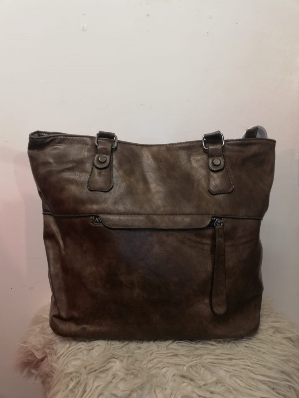 Brown Fo Leather Bag
