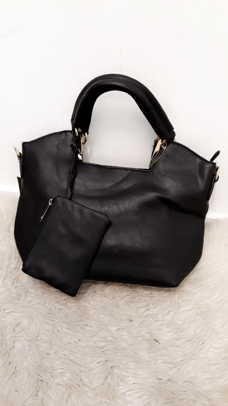 Big Black Shopper Bag