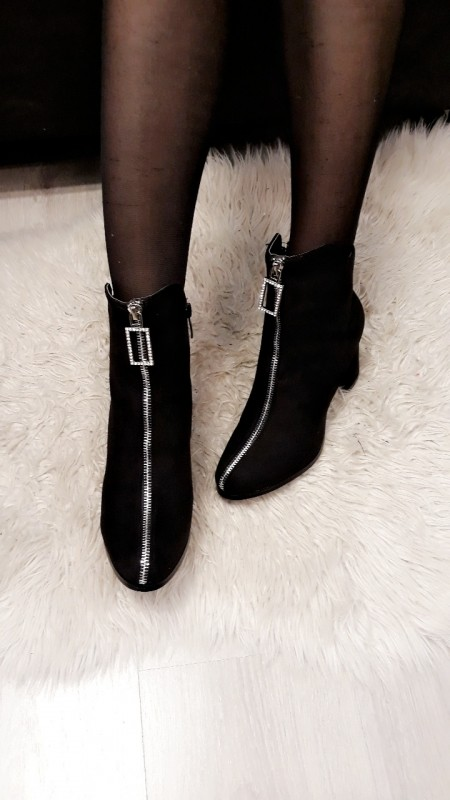 Zipped Ankle Boots