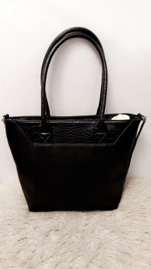 Black Crocodille Handbag