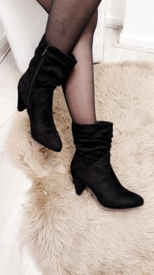 Basic Black Heel Boots