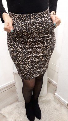 Cute Dotted Skirt