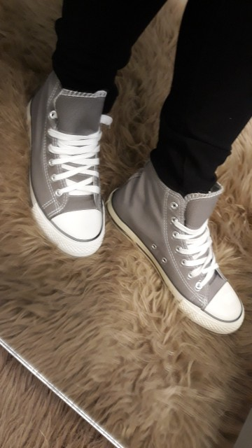Grey Angle Sneakers