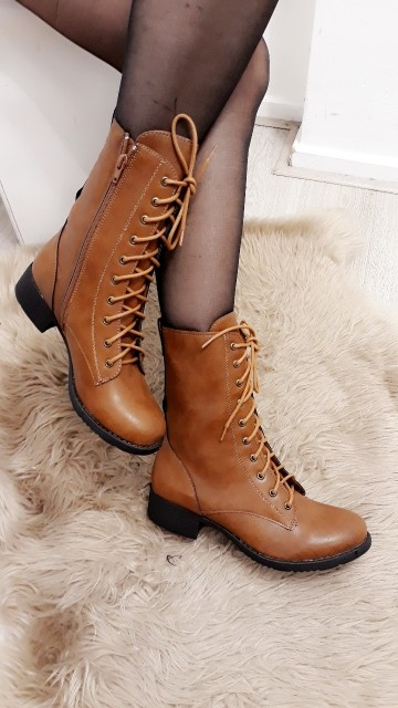 Brown High Ankle Boots