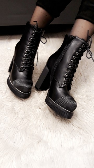 Laced High Boots