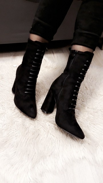 Leather Laced Boot