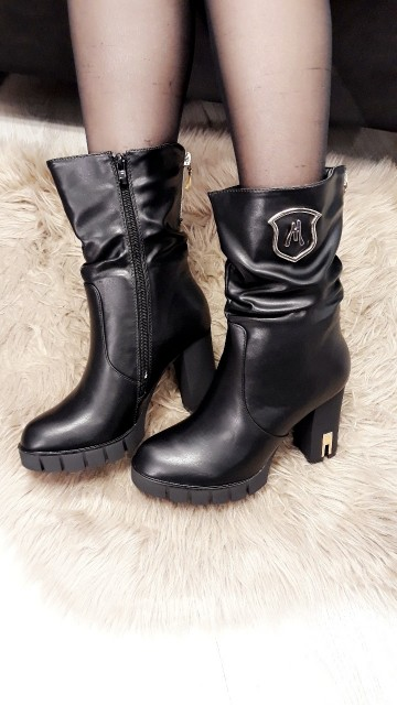 Golden Touch Boots Leather