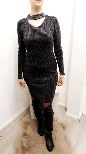Black Shoker Dress
