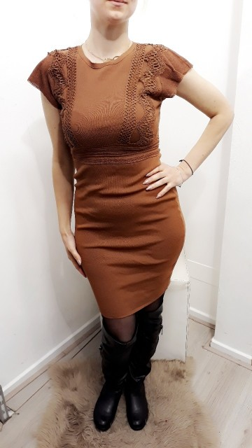 Formal Brown Dress