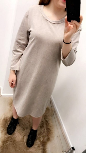 T-Shirt Dress Beige