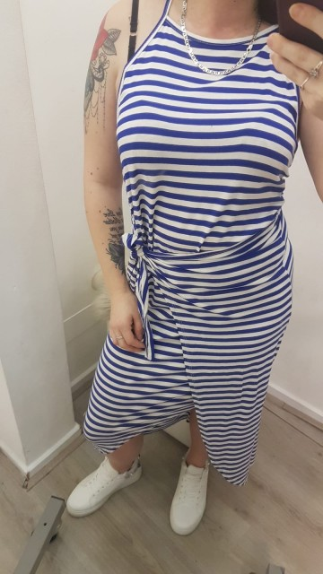 Maxi-Dress Stripped