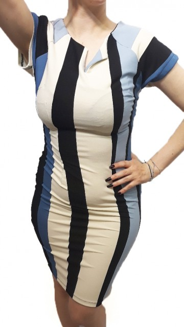 Retro Stripe Dress