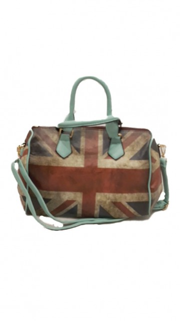 Engelse Vlag Tas Baby Blauw