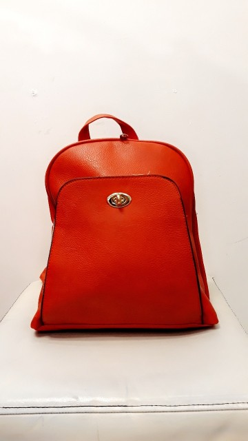 Cute Bright Red Backpack