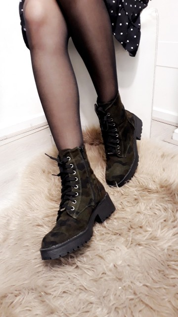 Stoere leger boots