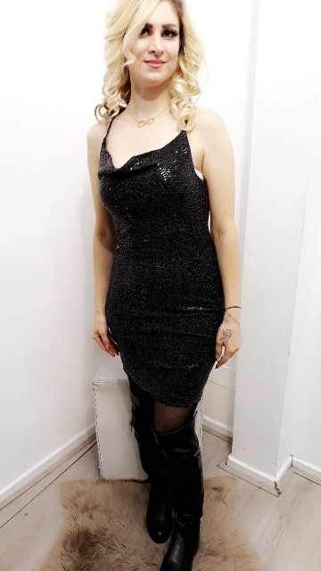 Short Black Cocktail Dress