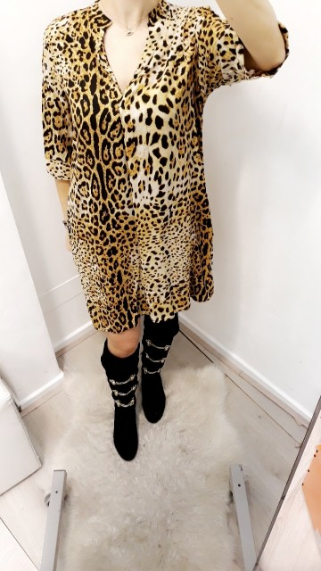 Jaguarprint dress