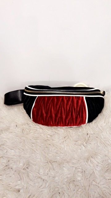 Red Velvet Fanny Pack