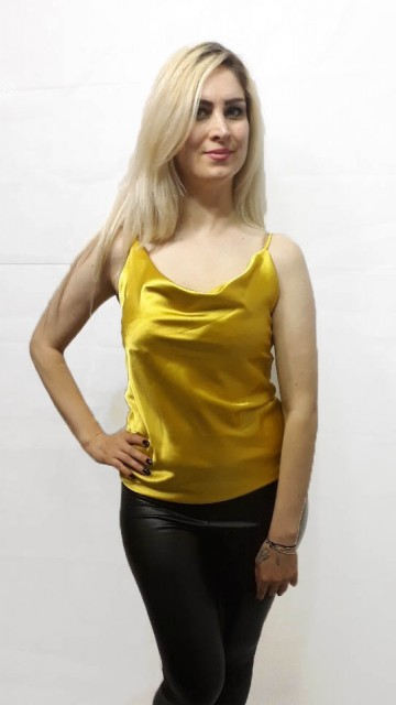 Luxury Top Yellow