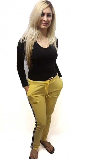 Jogger Pants Yellow
