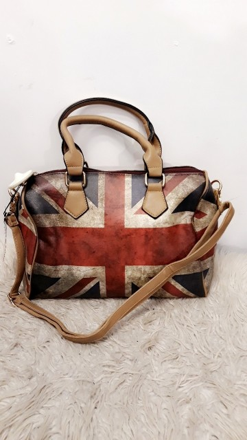 English Flag Bag Brown