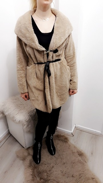 Teddy Coat Brown